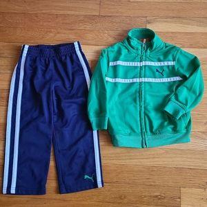 Puma 👦 Boys pants and jacket set.